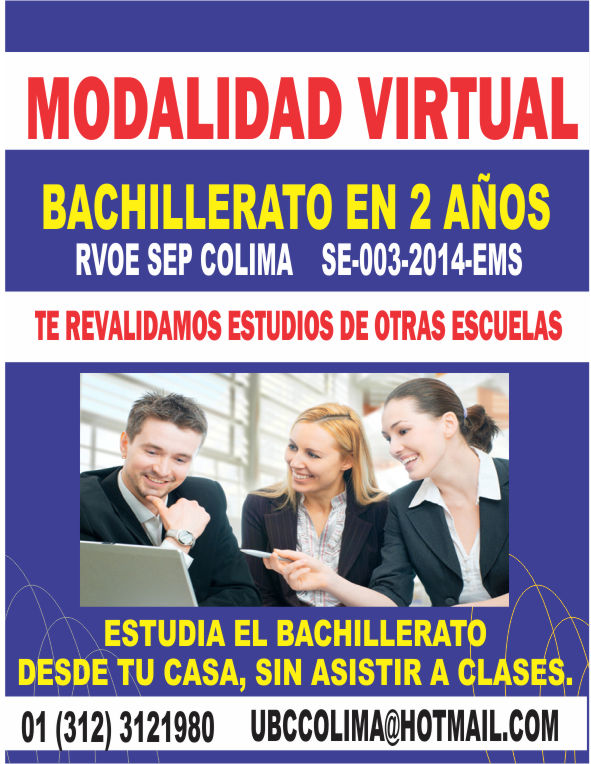 RVOE oficial: Bachillerato en Linea